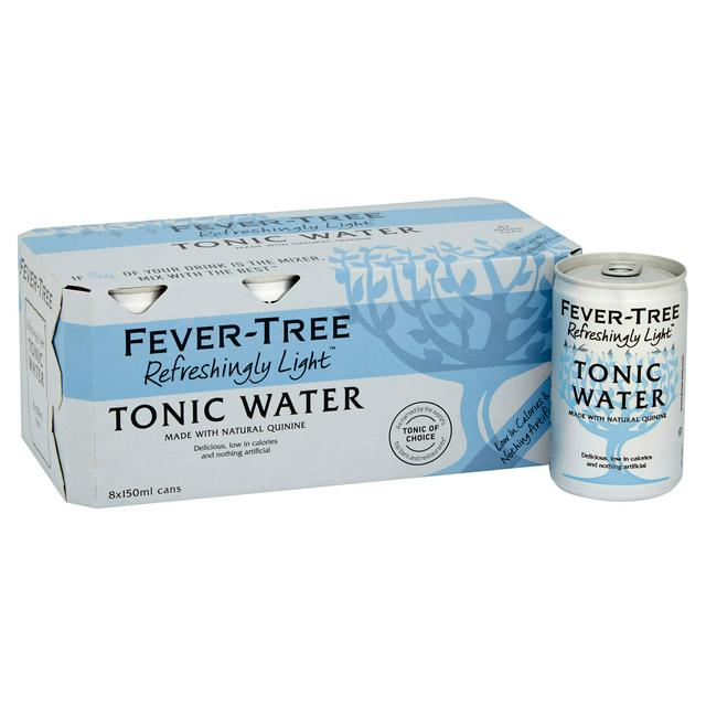 Case of 8 Fever Tree Tonic (Slimline)